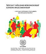 Miniatyrbild från framsida av pdf från examensarbetet Socialt hållbar bogemenskap genom byggemenskap av arkitekten Sara Svensson